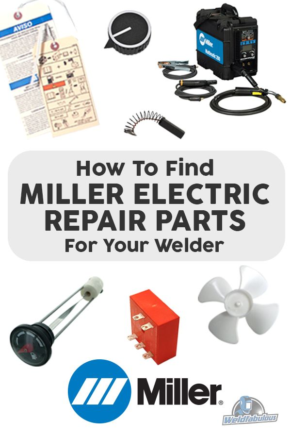 How to Find Miller Electric Repair and Replacement Parts ...