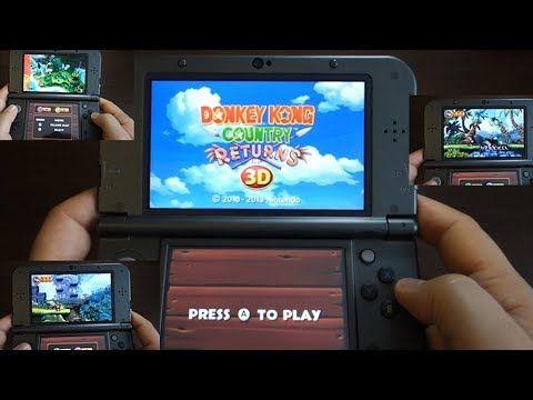 Donkey Kong Country Returns 3D - NINTENDO 3DS XL gameplay - Andrasi.ro