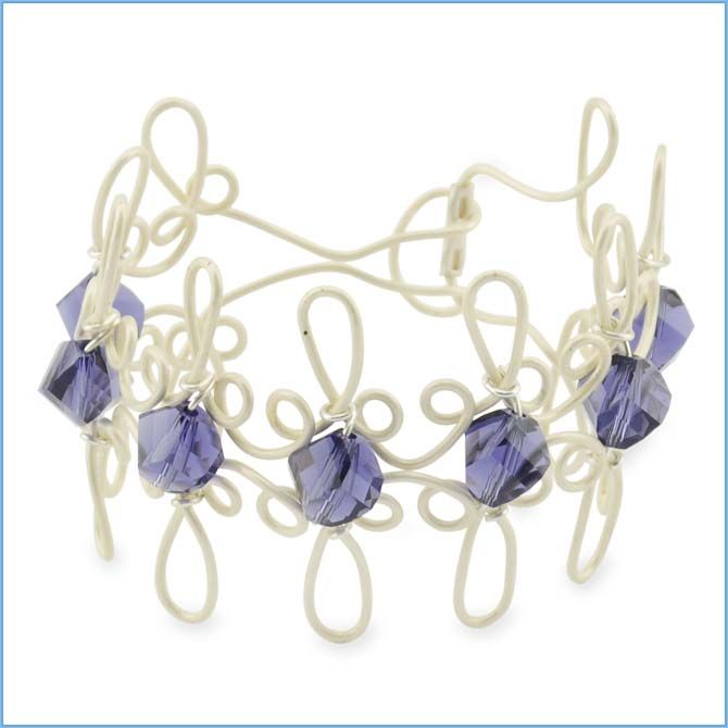 Best 100+ Jewlery-artistic wire 3d bracelet jig images on Pinterest ...