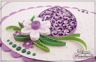 Quilling Easter Card - 2013