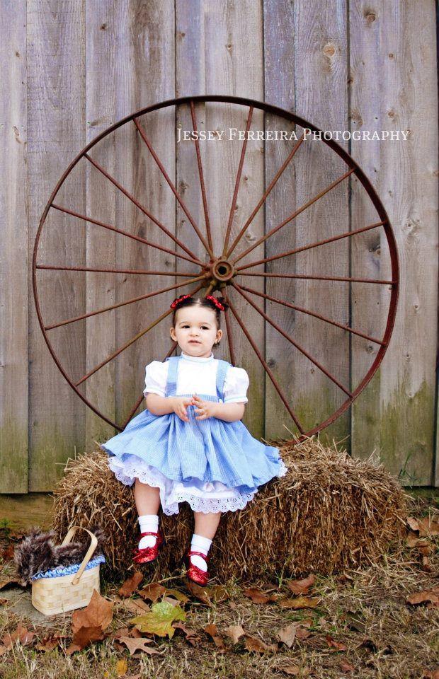 Baby Dorothy Like Dress with Crinoline slip Custom Costume. $58.00, via Etsy.