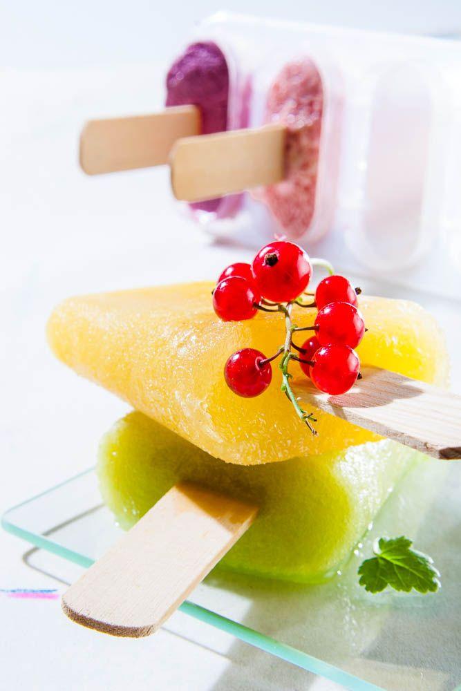 El postre ideal para tus niños: polos de fruta #helados #polosdefrutas #recetaveraniega