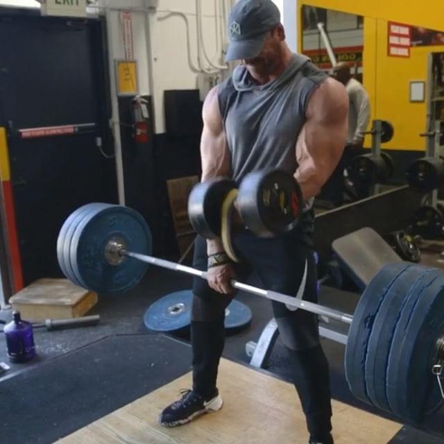 When you gotta deadlift but it's still arm day _______ @BMFITGEAR (lifting gear) @BRADLEY_MARTYN (other acct)
