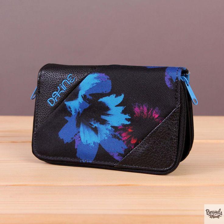 Portfel damski Dakine Annie Blue Flowers / www.brandsplanet.pl / #dakine