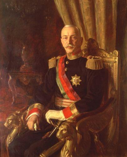Retrato oficial do Presidente Óscar Carmona (1933) - Henrique Medina - Óscar Carmona – Wikipédia, a enciclopédia livre