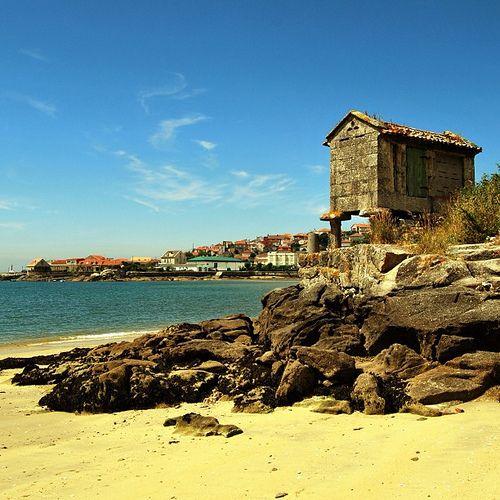 Praia da ría da Aldán, Cangas (Pontevedra)