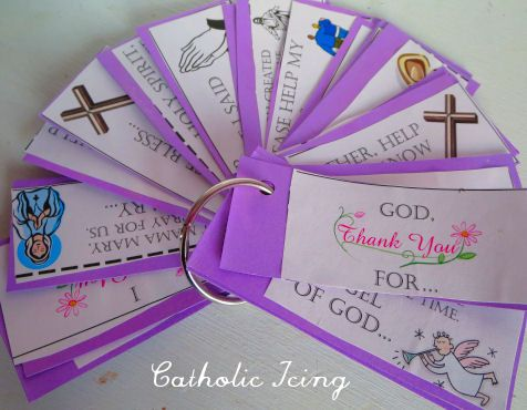printable prayer starters for children... i think i would make them a little more... ehh, modern. idk