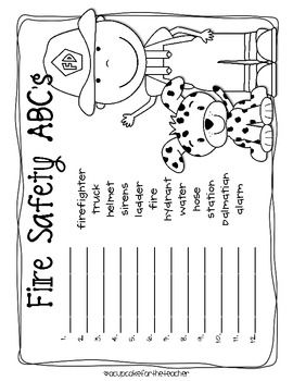 17 best images about fire safety on pinterest preschool for Free printable fire prevention coloring pages