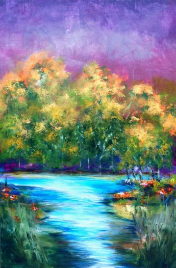 On the banks of time, 150 x 100 cm acrylic on canvas by Thelma Zambrano (scheduled via http://www.tailwindapp.com?utm_source=pinterest&utm_medium=twpin&utm_content=post27401050&utm_campaign=scheduler_attribution)
