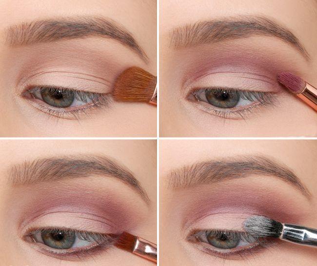 cool Красивый макияж для голубых глаз (50 фото) — Повседневный и вечерний образ пошагово