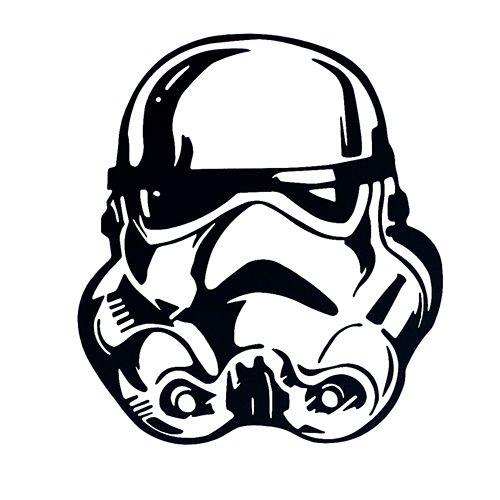 Star Wars Storm Trooper Laptop Car Truck Vinyl Decal Window Sticker PV407