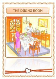 English teaching worksheets: The dining room