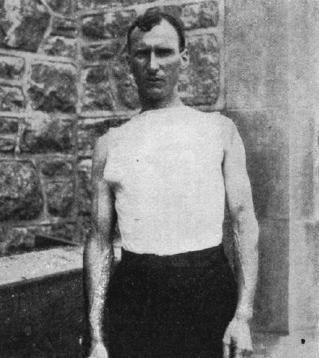 1904 Thomas J Hicks.(USA) JO de St Louis USA