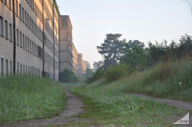 """Der """"Koloss"""" von Prora, ein gigantischer 4,5 km langer Ferienkomplex aus der NS-Zeit"""