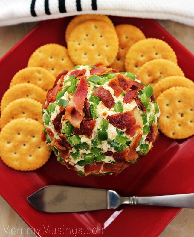Cheesy Jalapeno Bacon Dip – Best Super Bowl Game Snack & Weight Loss Food Tip - Easy Idea