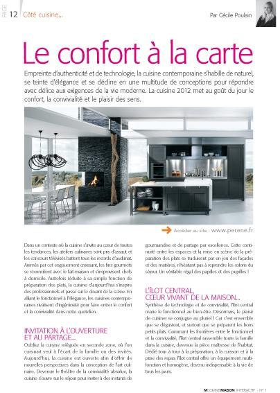 Découvrez sur le webzine M comme Maison notre dossier spécial cuisine. http://magazine.mcmwebzine.fr/#/12/view