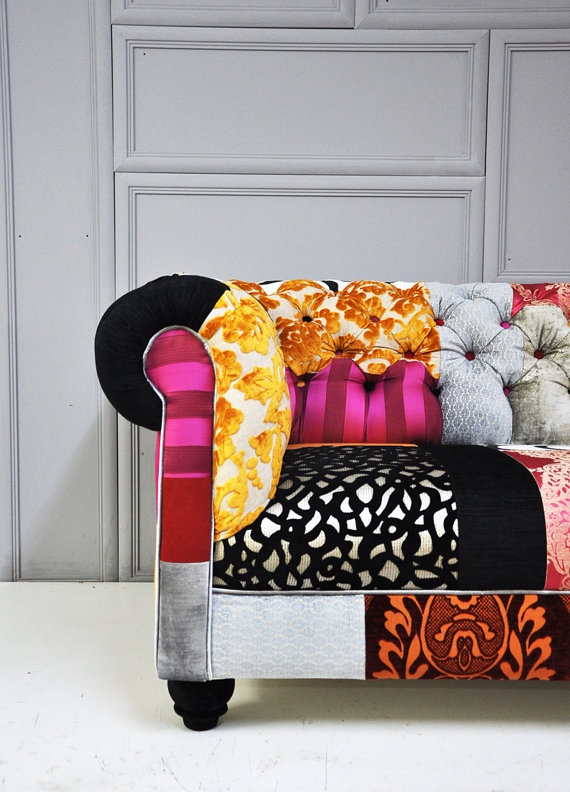 chesterfield patchwork sofa  2 by namedesignstudio on Etsy, $2800.00