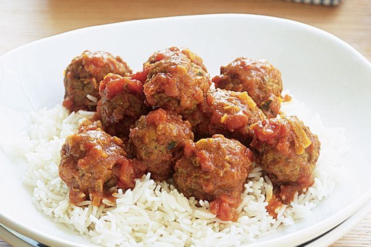 Indian Lamb meatballs