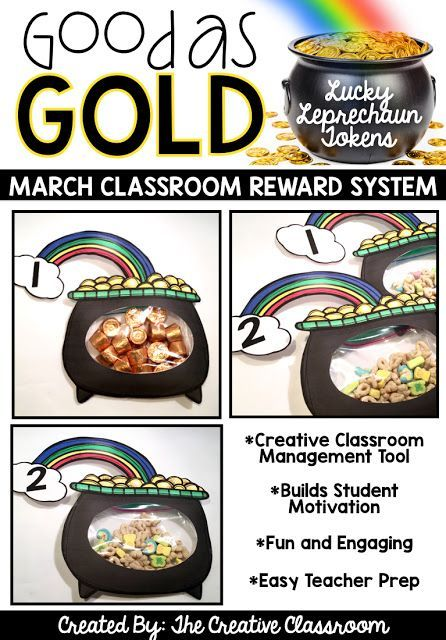 Classroom Reward System for St. Patrick's Day