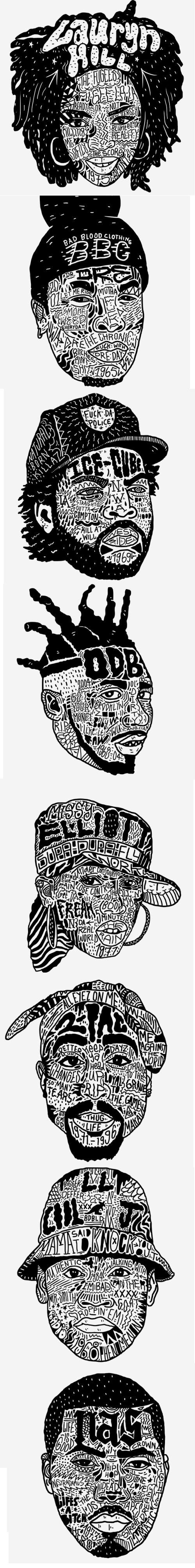 hip hop design | Selected by Brute Beats, Your hip hop station | #hiphop #rap #beats | brutebeats.com