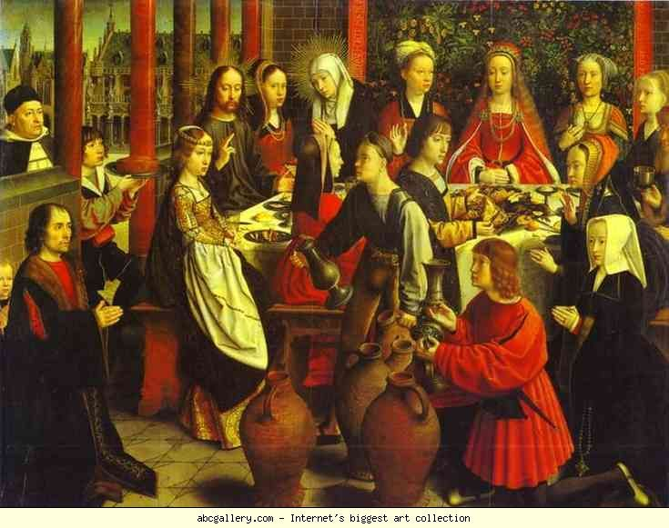 Gerard David. The Marriage at Cana.