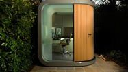 A mod pod that's not so odd. From the LA Times Home section:  http://www.latimes.com/features/home/la-hm-small-prefab-offices-photos,0,2513835.photogallery?index=la-hm-small-prefab-offices-photos-009
