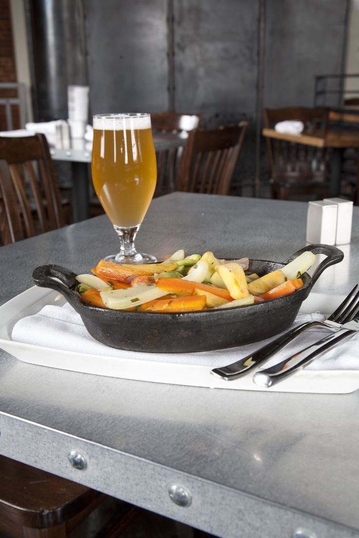 Honey, Pale Ale and Rosemary Glazed Vegetables recipe | DRAFT Magazine