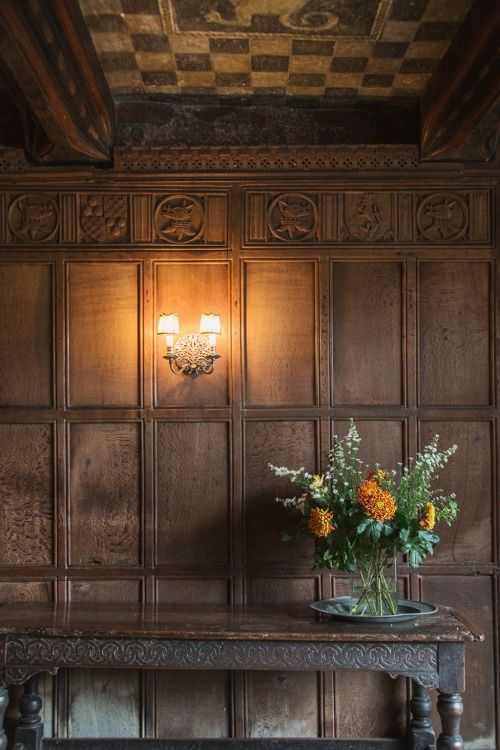 Inside Haddon Hall, Derbyshire. Photo by Shevaun Williams.