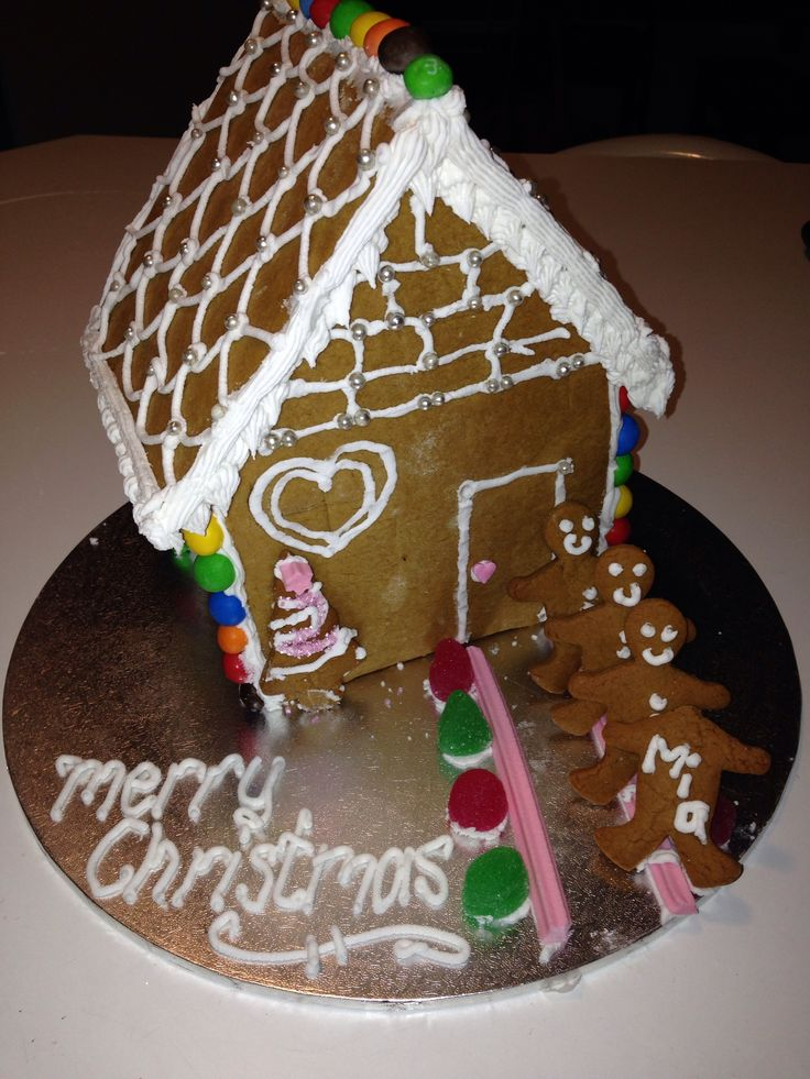 First ever gingerbread house!