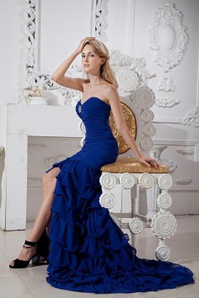 Elegant Liebsten Trompete Meerjungfrau Berühmtheit Kleid ba1805 - http://www.brautmode-abendkleid.de/elegant-liebsten-trompete-meerjungfrau-beruhmtheit-kleid-ba1805.html - Ausschnitt: Sweetheart. Stoff: Chiffon. Ärmel: Ärmellos. Farbe: Blau. Silhouette: T