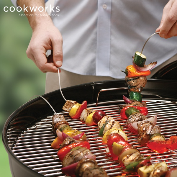 Fire Wire offers flexibility like no other skewer on the market.