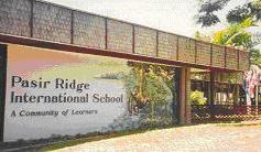 Pasir Ridge International School - Balikpapan, Indonesia. This is where I attended part of my elementary schooling.