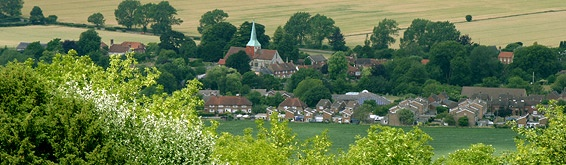 Harting nr Petersfield - lived here