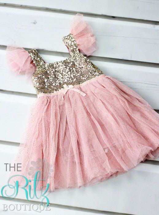 Hey, I found this really awesome Etsy listing at https://www.etsy.com/listing/231683998/peachpink-sequin-dress-baby-toddler