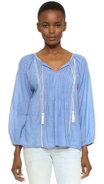 Love the bohemian blouse
