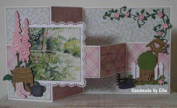 Dag allemaal,     Er is weer een nieuwe challenge op het Marianne Design challenge blog  van start gegaan. Dit keer mogen jullie een tuin k...