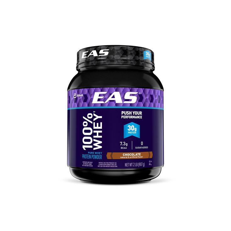 Eas 100% Whey Protein Powder - Chocolate - 2lbs