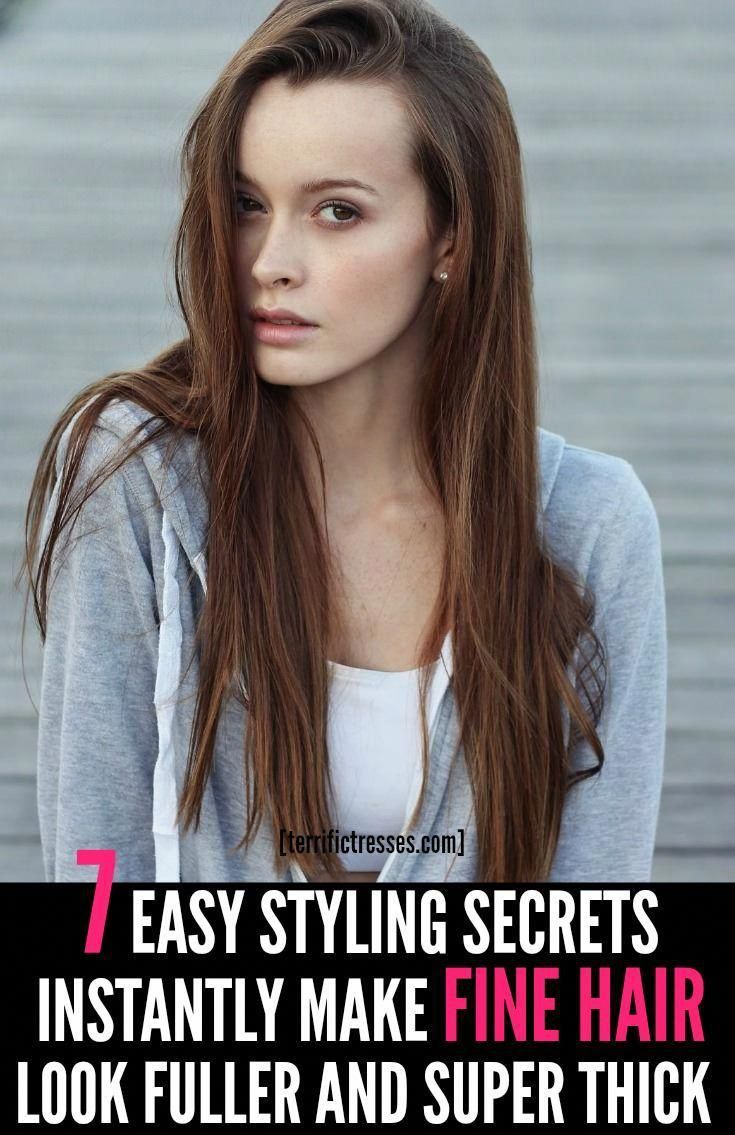 Fine Hair Then You Should Welcome Tips For Faking Fuller Fine Hair Styles For Women These Nin Thin Hair Styles For Women Fine Hair Fine Hair Styles For Women