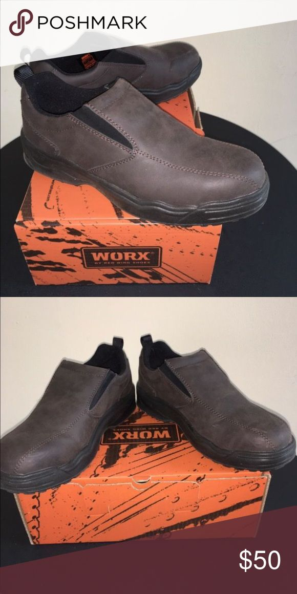 Work boots Low cut, worn once worx Shoes Boots
