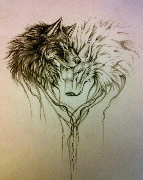small wolf tattoo wolf designs wolf drawings - Google Search