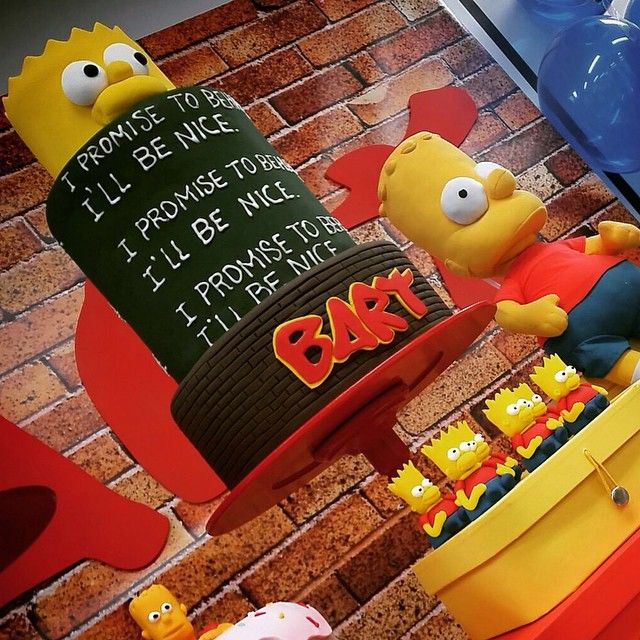Simpsons Kitchen Remodel: 1000+ Ideas About Simpsons Party On Pinterest