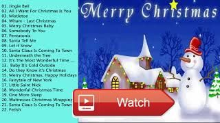 Top Popular Christmas Songs and Carols Playlist 1 Best Songs Of Christmas  Top Popular Christmas Songs and Carols Playlist 1 Best Songs Of Christmas