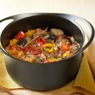 """""""Ratatouille"""" from Williams-Sonoma.  After that adorable Pixar cartoon, this has definitely been on my """"must taste"""" list :)"""