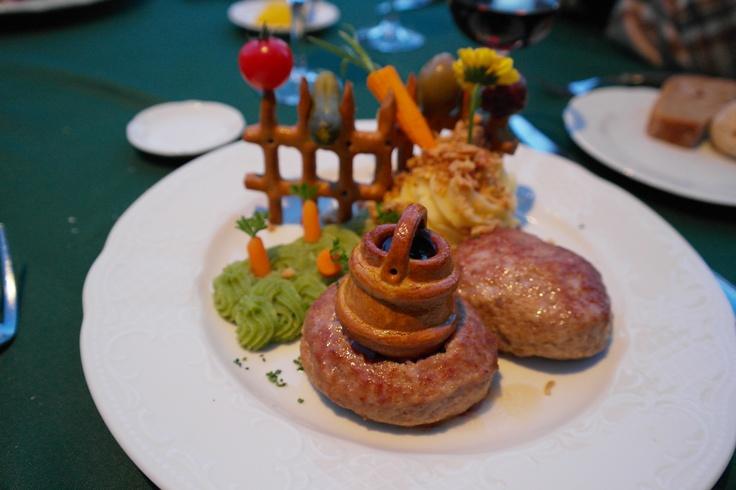 Dinner at Pushkin Cafe