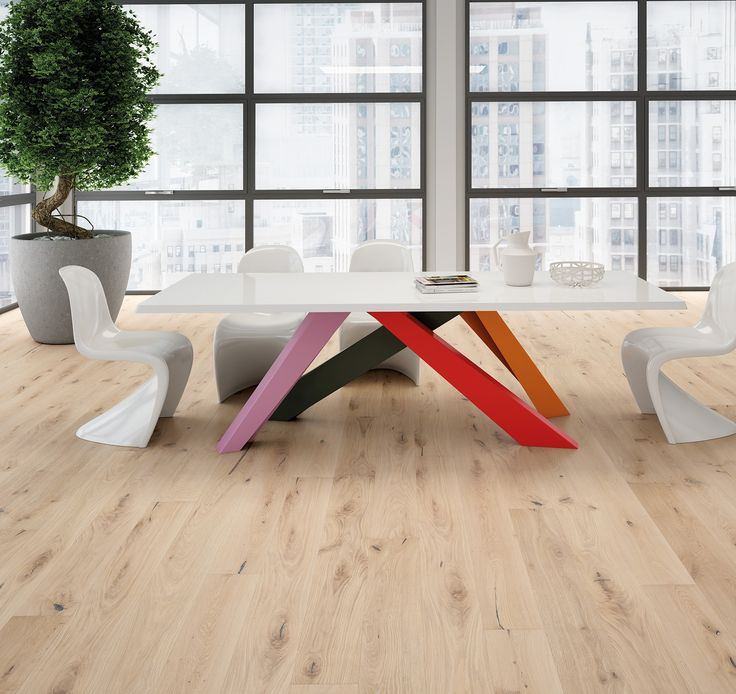 #parquet Rovere Sense, Slim 180 collection. #Thickness of just 10 mm. #oak #wood #floor #design #slim