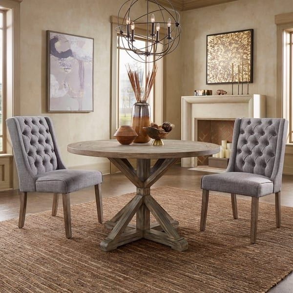 Overstock Com Online Shopping Bedding Furniture Electronics Jewelry Clothing More In 2020 Brown Dining Table Traditional Dining Room Table Round Dining Table
