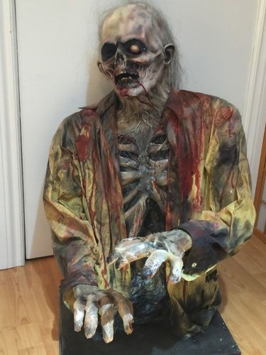 200 best Halloween props images on Pinterest Halloween ideas - zombie halloween decorations
