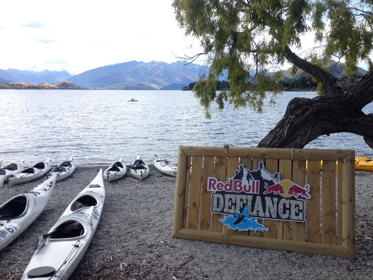 Red Bull Defiance on the shores of Lake Wanaka!