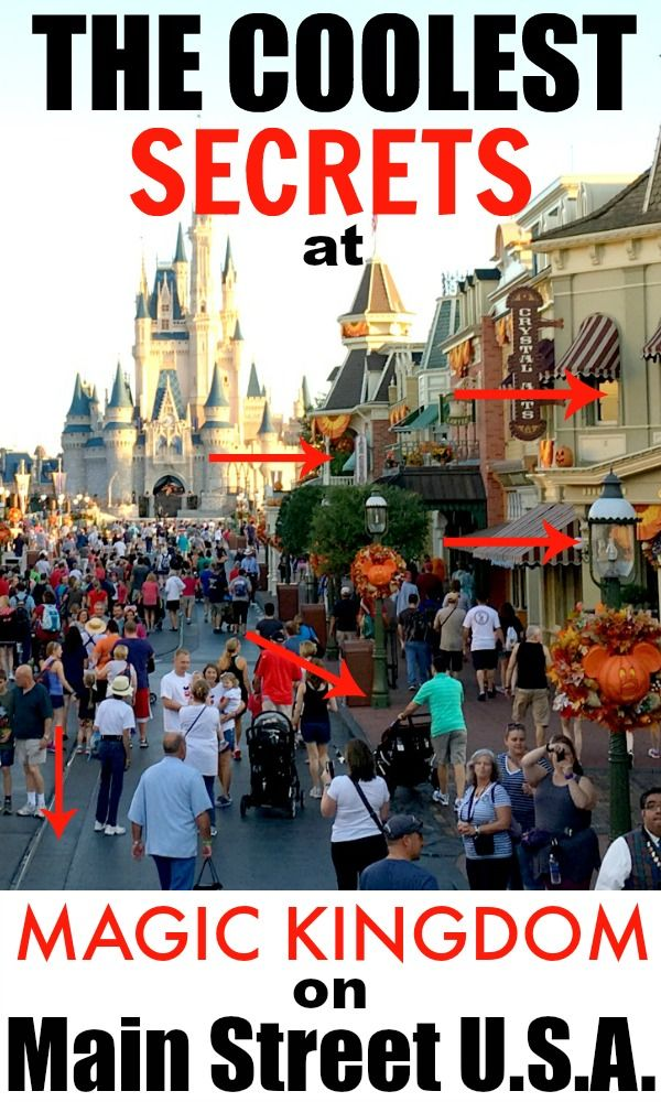 We know Disney World is the coolest, but there's so many fun secrets to be learned! Here's seven of the coolest secrets about Main Street U.S.A. at Magic Kingdom!