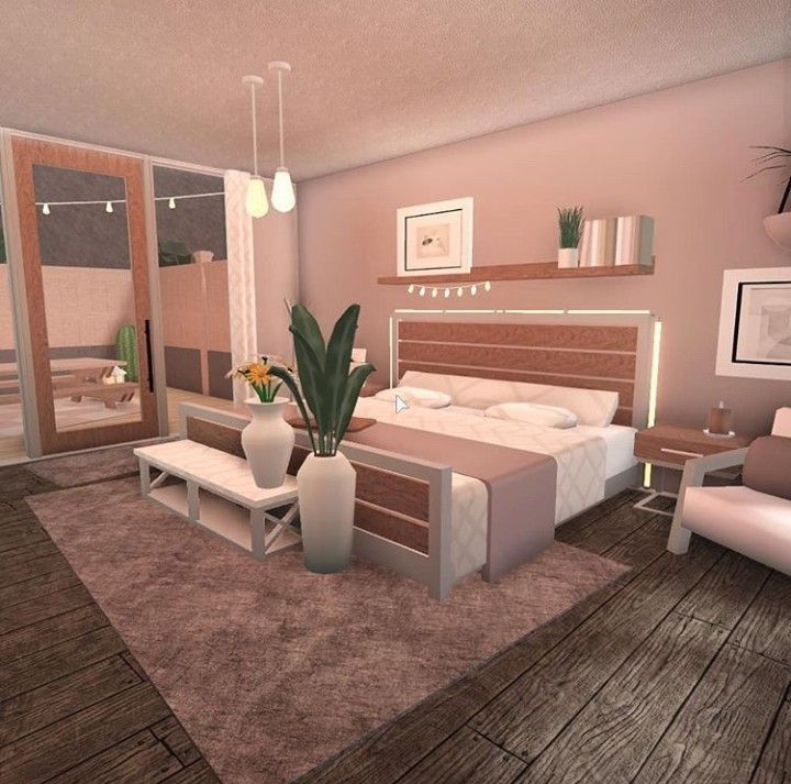 Bloxburg Bedroom In 2021 Tiny House Bedroom Simple Bedroom Design House Decorating Ideas Apartments Bloxburg bedroom ideas pinterest